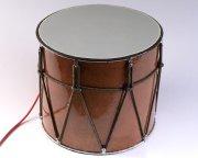 Профессиональный кавказский барабан с микрофоном ручной работы Дамира Мамедова (34 см)