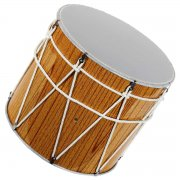 Профессиональный кавказский барабан ручной работы Дамира Мамедова (32-34 см) арт.2389