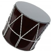 Учебный кавказский барабан ручной работы Дамира Мамедова (до 15 лет) арт.2451