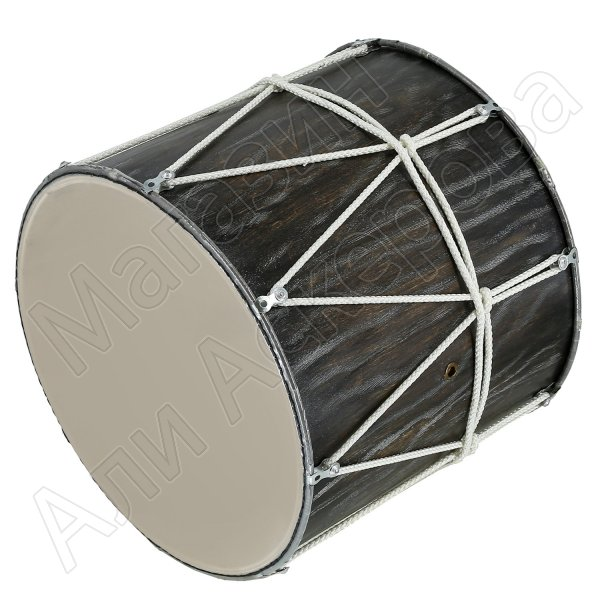 Профессиональный кавказский барабан ручной работы Ильхама Алекперова (30-34см)