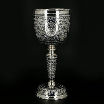 Серебряный бокал-кубок Кубачи 400 мл