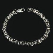 Серебряный браслет Гавайка 21 см (ширина 0,6 см) арт.11021