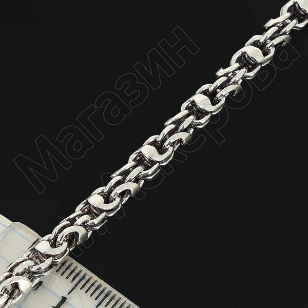Серебряная цепь Гавайка 70 см (ширина 0,5 см) арт.11028