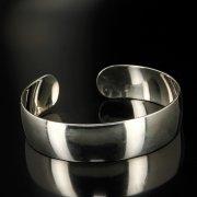 Серебряный кубачинский браслет белый арт.6380