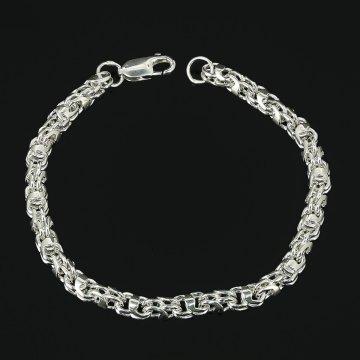 Серебряный браслет Гавайка 20 см (ширина 0,5 см)