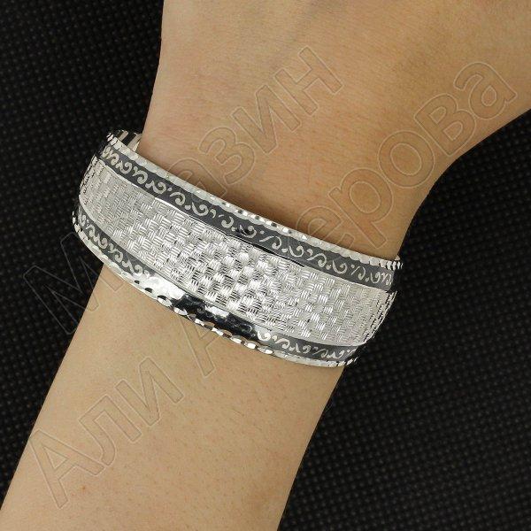 Серебряный кубачинский браслет