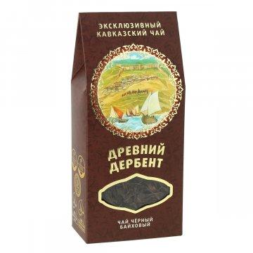 """Эксклюзивный кавказский черный чай с горными травами """"Древний Дербент""""  10249"""