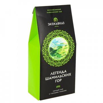 """Эксклюзивный кавказский черный чай с горными травами """"Легенда Шамильских гор""""  8312"""
