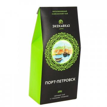 """Эксклюзивный кавказский черный чай с горными травами """"Порт - Петровск""""  8314"""