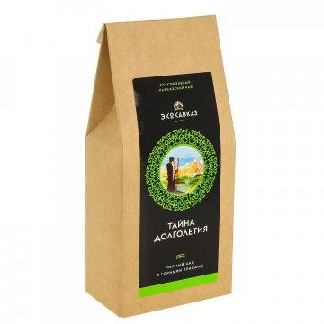 """Эксклюзивный кавказский черный чай с горными травами """"Тайна долголетия""""  8321"""