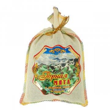 """Эксклюзивный кавказский зеленый чай """"Горная мята"""""""