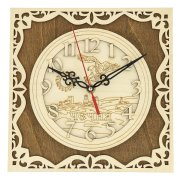 """Подарочные часы """"Чечня"""" ручной работы арт.9662"""