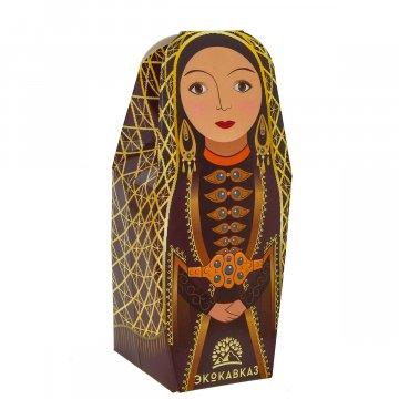 Эксклюзивный кавказский черный чай с горными травами в подарочной упаковке