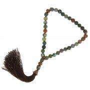 Четки Индийская яшма ручная работа (натуральный камень, 33 бусины)