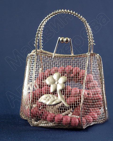 Ароматизированные четки в металлической сумочке 99 бусин