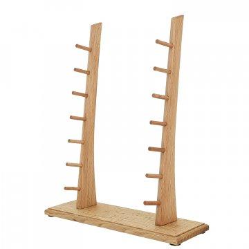 Деревянная подставка для 7 ножей (бук)