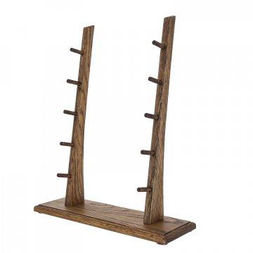 Деревянная подставка для 5 ножей (дуб)