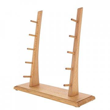 Деревянная подставка для 5 ножей (бук)