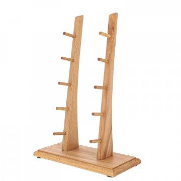 Деревянная подставка для 5 складных ножей (бук)
