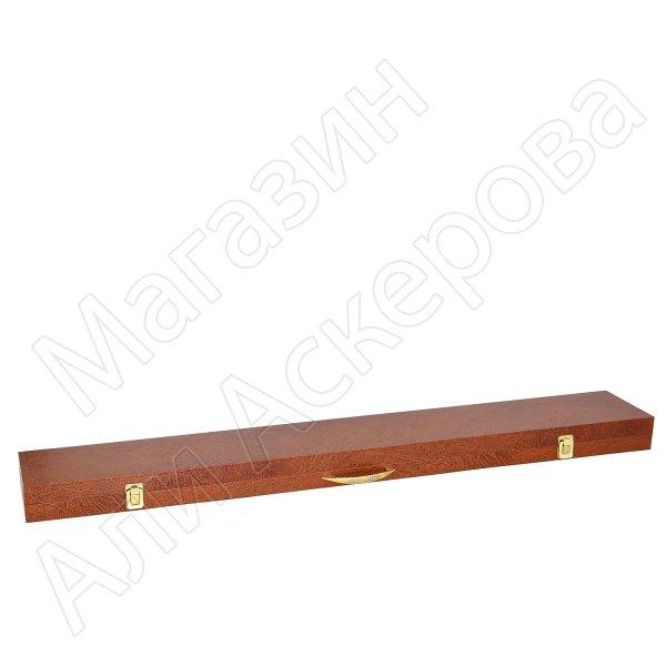 Деревянный футляр для шашки (105х14 см)