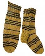 Джурабы-носки полушерстяные желтые