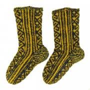 Кавказские джурабы ручной работы из натуральной шерсти арт.10555