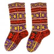 Кавказские джурабы ручной работы из натуральной шерсти арт.10570