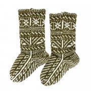 Кавказские джурабы ручной работы из натуральной шерсти арт.6405