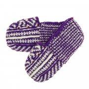Джурабки-тапочки вязаные ручной работы (шерсть)