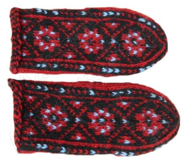 Детские джурабки шерстяные традиционные №3