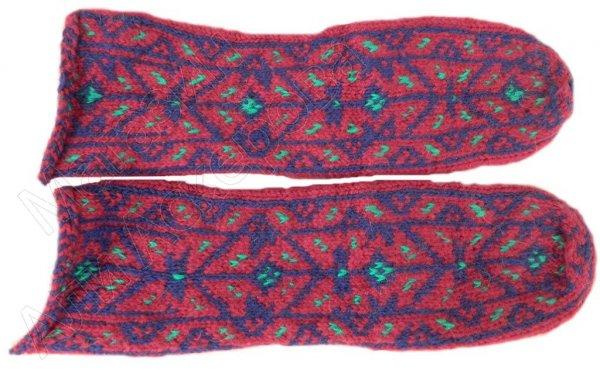 Джурабы шерстяные (табасаранский орнамент)
