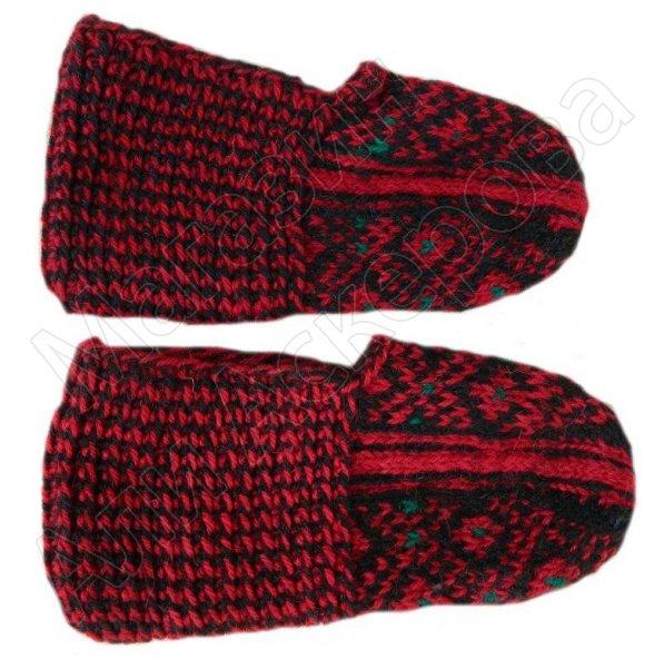 Джурабки-тапочки с табасаранским орнаментом