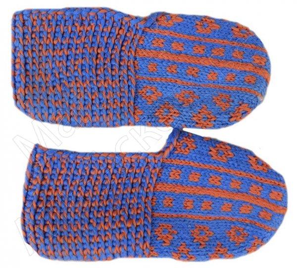 Джурабки-тапочки с кумыкским орнаментом