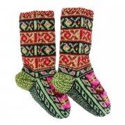 Кавказские джурабы ручной работы из натуральной шерсти арт.6099