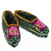 Кавказские джурабы-чешки ручной работы из натуральной шерсти арт.6106