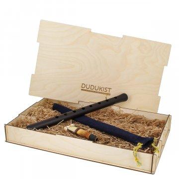 Профессиональный кавказский дудук (строй ЛЯ) в подарочной упаковке мастера К.Мукаеляна