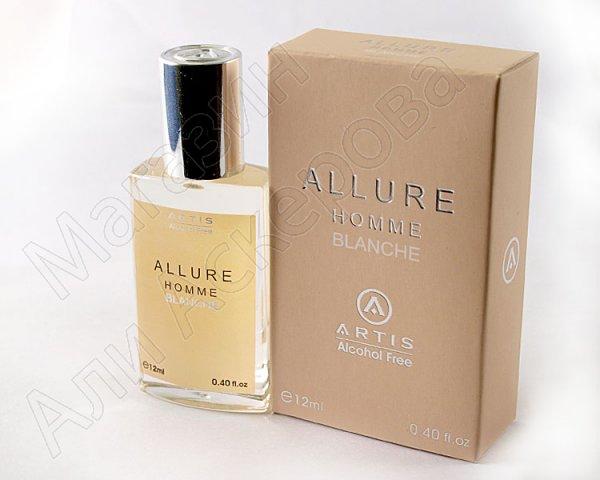 "Мужские масляные духи ""Allure Homme Blanche"" коллекции ""Artis"""