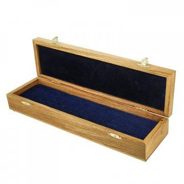 Эксклюзивный деревянный футляр для ножа (34х9 см)