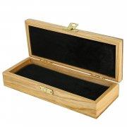 Эксклюзивный деревянный футляр для ножа (20х8 см) арт.10023
