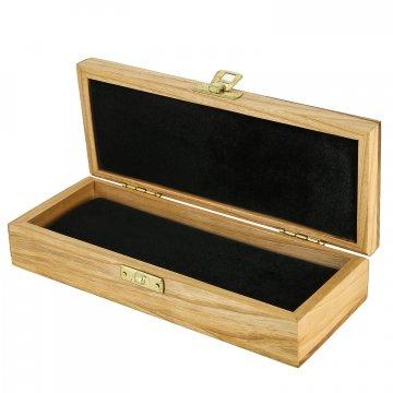 Эксклюзивный деревянный футляр для ножа (20х8 см)