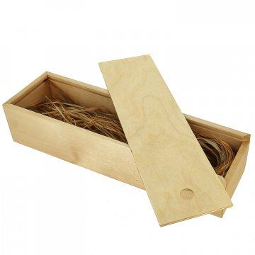 Деревянный футляр-пенал для ножа (32х9 см)
