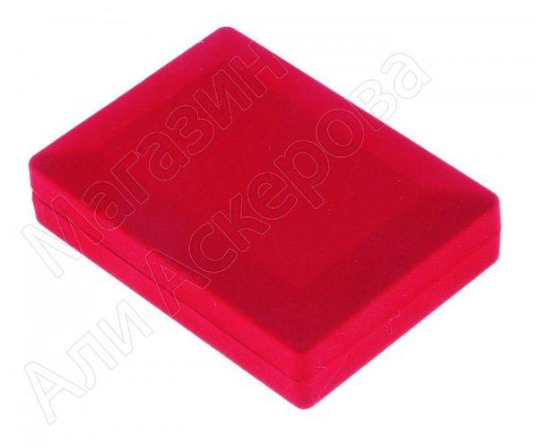 Подарочный футляр ярко-красный под серебряную подкову
