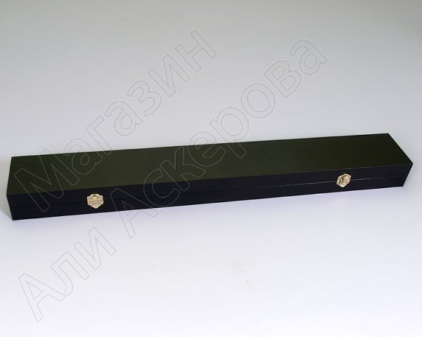 Деревянный футляр для кинжала (74х10 см)
