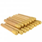 Газыри для черкески набор 16 шт (позолота)