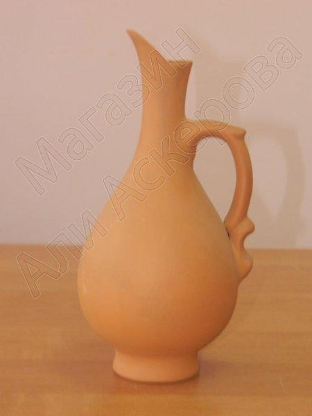 Глиняный кувшин для вина классический ручной работы