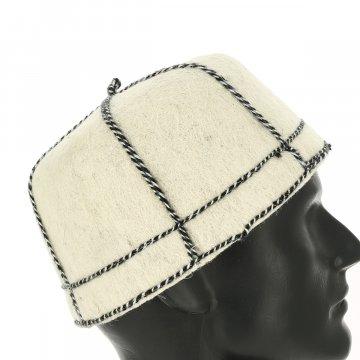 Грузинская национальная шапка Сванури из овчины