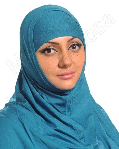 """Мусульманский хиджаб-двойка """"Хадижа"""" коллекции """"Ассалам"""""""