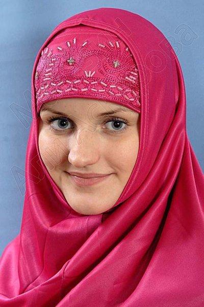 """Мусульманский хиджаб-двойка """"Чайная роза"""""""