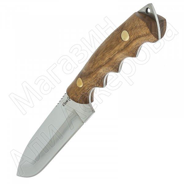 Нож Сом (сталь Х50CrMoV15, рукоять орех)