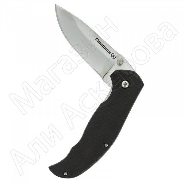 Складной нож Спутник (сталь Х50CrMoV15, рукоять черный граб)